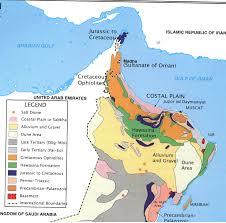 Map Of Oman Oman Geology Garrettnewz