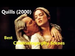 quills movie trailer dailymotion quills 2000 best cinematography scenes youtube