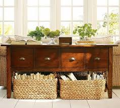 Baskets For Bookshelves Decorating With Baskets 18 Everyday Ideas Tidbits U0026twine