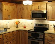 Kitchen Pine Cabinets Furniture Inspiring Traditional Kitchen With Knotty Pine Kitchen