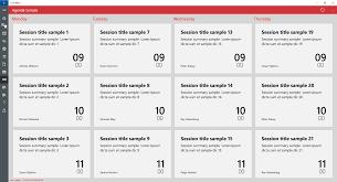 windows app studio february 2016 update u2013 agenda layout searching