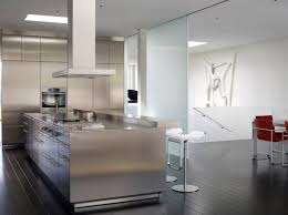 stainless steel island for kitchen 20 beautiful stainless steel island counters home design lover