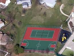 Basketball Court In The Backyard How To Install A Backyard Basketball Court