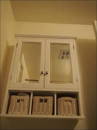 bathrooms wonderful white bathroom wall storage cabinet corner