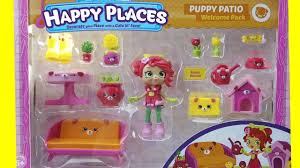 Welcome Baby Home Decorations Shopkins Happy Places Home Collection Puppy Patio Welcome Pack