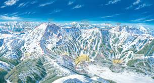 Ski Resorts Colorado Map by Kirkwood Trail Map
