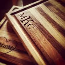monogramed cutting boards beauitful custom cutting boards fathersday paypalit treat yo