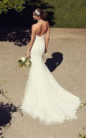 backless lace wedding dress essense of australia