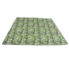 Large Outdoor Cing Rugs Fresh Green Waterproof Picnic Blanket Outdoor Cing Rug