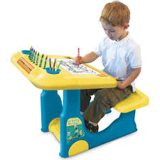amazon com minions sit u0026 play creative art desk baby