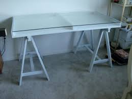 white wicker desk with glass top why having a pictures mesmerizing glass desk table legs small black top trestle tempered