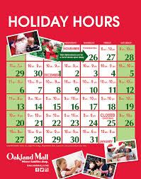 mall hours the best 2017