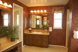 Bathroom Accents Ideas Beige Bathroom Interior Design Idea Feat Floral Accents Background