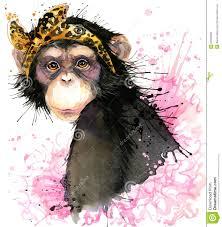 cute halloween background monkey monkey t shirt graphics monkey chimpanzee illustration with