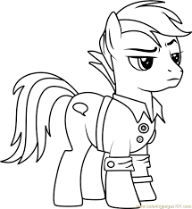 quibble pants coloring page free my little pony friendship is