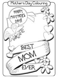 mothers day colouring pages u2013 leap and learn