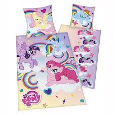 Single Duvet And Pillow Set My Little Pony Single Duvet Cover Sets Girls Bedroom Bedding