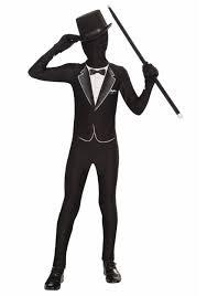 Gentleman Halloween Costume Kids Formal Tuxedo Skin Suit