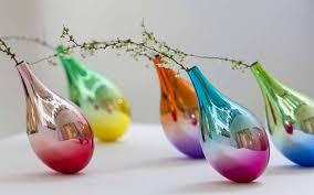 Japanese Flower Vases This Japanese Designer Makes Flower Vases That Swing When Petals