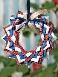starry no sew ornament pattern crafts