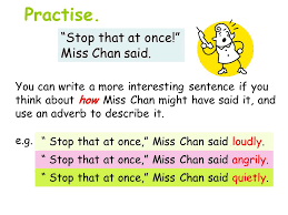 describe it adverbs we are going to learn about what is an adverb an