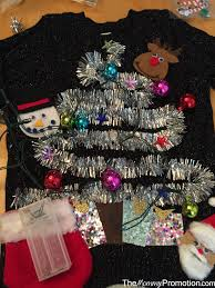 diy ugly cute christmas sweater u2013 for kids u2013 the mommy promotion