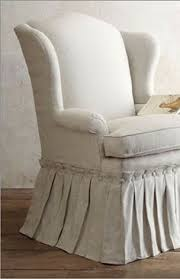 Wing Chair Cover How To Sew A Slipcover For A Wingback Chair Wingback Chairs
