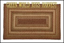 Amish Braided Rugs Green World Harvest Braided Rugs