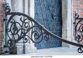 an ornamental railing stock photos an ornamental railing stock
