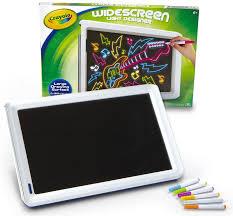 Light Up Drafting Table Amazon Com Crayola Widescreen Light Designer 74 7053 Toys U0026 Games