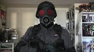 resident evil hunk costume youtube