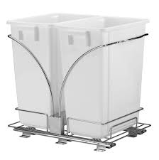 cabinet trash cans pull out garbage cans organize it