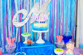 Under The Sea Decoration Ideas The Little Big Company Blog Party Feature A Mermaid Party By
