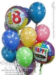 balloon delivery irvine ca 18th birthday balloons delivered same day orange county ca