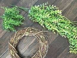artificial boxwood wreath how to make a faux boxwood wreath the whole cook