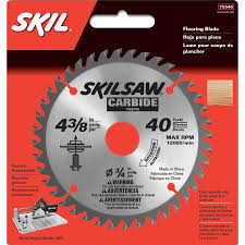 Saws For Cutting Laminate Flooring Shop Skil 4 3 8 In 40 Tooth Standard Tooth Carbide Circular Saw