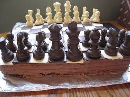 coolest chess sets chess board cake a taste of madness