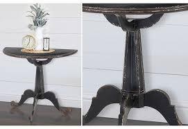 Metal Accent Table Metal Accent Table Elegant Farmhouse