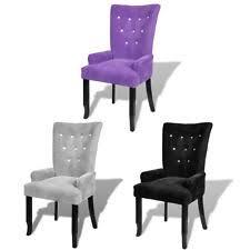 Modern High Back Armchair Modern Velvet Chairs Ebay