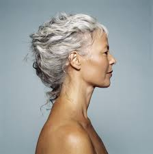naturally curly gray hair 30 stylish gray hair styles for short and long hair inside most
