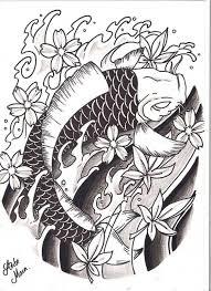 great japanese artist koi fish design tattooshunter com