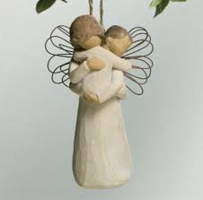 willow tree s embrace ornament let s buy