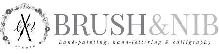 Calligraphy Wedding Invitations Weddings U2014 Brush U0026 Nib Studio Hand Painting Hand Lettered