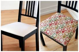 How To Reupholster Dining Chair How To Recover Dining Room Chairs Adorable Design F Pjamteen Com