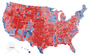 Zip Code Map New York by There Are Many Ways To Map Election Results We U0027ve Tried Most Of