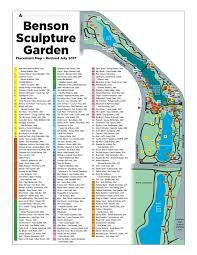 Loveland Colorado Map by Map Sculpture In The Park