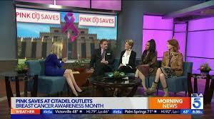 Citadel Outlet Map Breast Cancer Awareness Month Pink Saves At Citadel Outlets Ktla