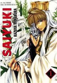Saiyuki Manga Cover