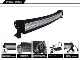 4x4 Led Light Bars by 50 Inch Curved Light Bar Dual Light Bar Black Oak Led