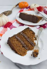 pumpkin cake recipe with fluffy chocolate frosting recipe